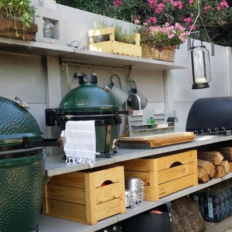 סדנת בישול וצלייה על BIG GREEN EGG 7