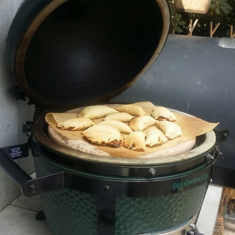 סדנת בישול וצלייה על BIG GREEN EGG 8