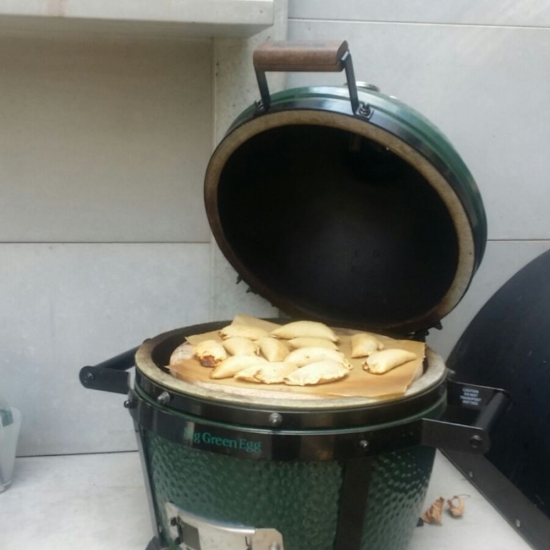 סדנת בישול וצלייה על BIG GREEN EGG 9