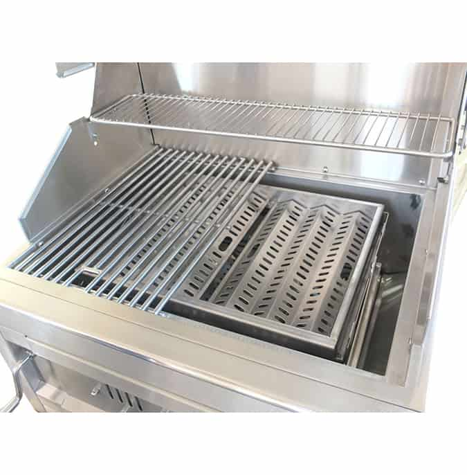 גריל פחמים CAESAR GRILL BUILT IN 3